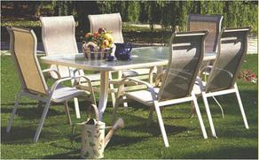 keri bútor akácia és alumínium kerti bútorok